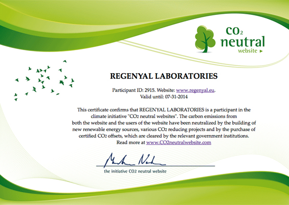 certificazione co2 neutral website